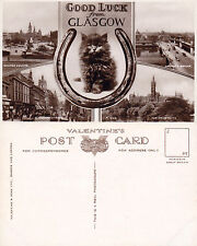 1950's MULTI VIEWS OF GLASGOW SCOTLAND REAL PHOTOGRAPH POSTCARD