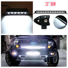"SUV ATV JEEP Durable 15"" 36W White LED Spot Light Bar Driving Offroad Work Lamp"