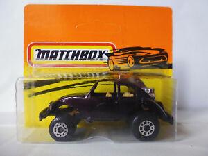 Matchbox VW Buggy Dark Braun Beige Interiour Bulgarien Bulgaria Bulgarian NOS