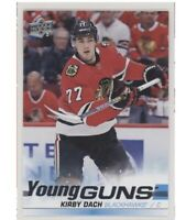 2019-20 Upper Deck Series 2 YOUNG GUNS Kirby Dach Rookie #451 19-20 BLACKHAWKS