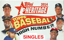 2014 Topps Heritage High Singles - You Pick - Nr Mint
