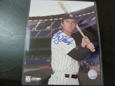 Greg Nettles Autograph / Signed 8x10 Photo New York Yankees