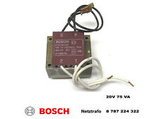 Bosch ComfortLift Trafo 20V 75 VA 8787224322  Garagentorantrieb Torantrieb
