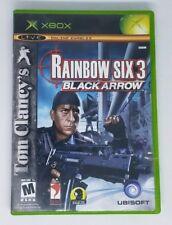 Tom Clancy's Rainbow Six 3: Black Arrow (Microsoft Xbox, 2004) Video Game