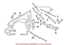For BMW Genuine Windshield Washer Pump 67127388349