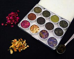 All World Tea Set Starter Gift Kit - Matcha Jasmine Rose Petal Christmas Gift
