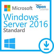 Windows Server 2016 Standard 64-bit Genuine License Key and Download