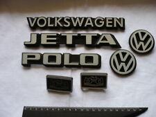 VW Polo Jetta Schriftzug Emblem Set weiß 321853685 165853687 165853688 191853601