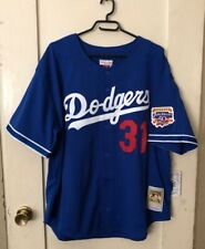 Men's Mitchell & Ness MLB Los Angeles Dodgers jersey Mike Piazza #31 size 2XL