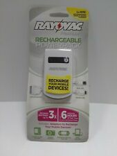 Rayovac Platinum Rechargeable PowerPack Apple Device Li-ion Charger Mobile Mini