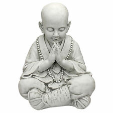 "God Baby Buddha Praying in Asian Garden 20.5"" Statue Sculpture Assembly"