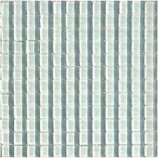 Glasmosaik Weiss Uni 23 Fliesen Dusche Granit Fliesenspiegel Mosaik Boden  Bad