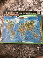 Great American Puzzle Factory' Map Of The World' 600 Piece ~ New ~ Animals