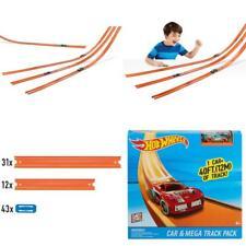 Hot Wheels 40 Feet Stunt Track & Builder Play Set Includes Racing Car Kids T