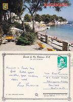1990's BEACH FRONT AUCANADA MALLORCA SPAIN COLOUR POSTCARD