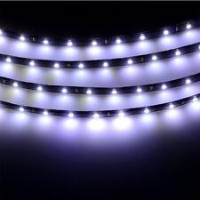 8x Car 12V 15 SMD 3528 LED Bulb Flexible Strip Light Lamp Bright Waterproof 30cm