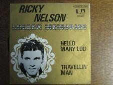 RICK NELSON RICKY NELSON 45 TOURS BELGE HELLO MARY LOU