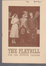 The Hasty Heart Playbill January 21 1945 John Lund Victor Chapin