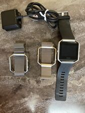 fitbit blaze W/2extra Bands And Charger