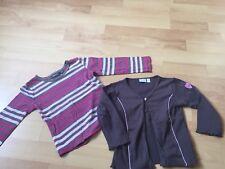 Mexx Set Langarmshirt & Strickjacke für Mädchen 86 98 104