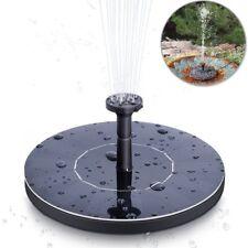 Solaire Pompe De Fontaine Mini Jardin Pompe à eau 1.4 W Cercle solaire d'arrosage fontaine
