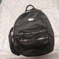 STEVE MADDEN. Large  Black Bag Backpack Purse