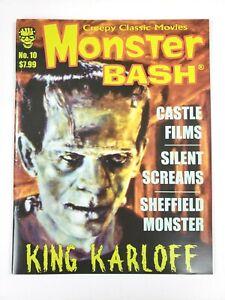 Monster Bash Magazine #10 Creepy Classic Movies 2009 King Karloff