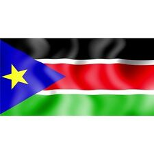 south sudan flag nation country state license plate made in usa