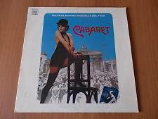 "12"" JOHN KANDER / FRED EBB colonna sonora film CABARET 1972"