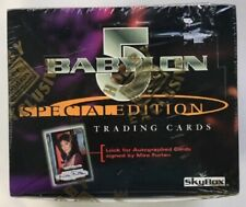Babylon 5 Special Edition Trading Cards Sealed Box by Fleer Skybox