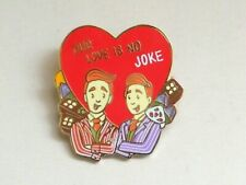 Harry Potter Fantasy Fred & George Weasley Valentine's Day Quote Pin