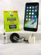 Apple iPhone 7Plus - 32GB Black (Verizon Straight Talk Activation Kit +SIM card)