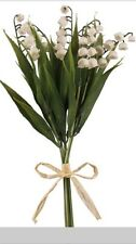 Lily Of The Valley Bundle Plastic Bunch Artificial Fake Wedding Flowers Posy