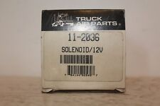 New Truck Air Parts 11-2036 MEI Solenoid Valve with 3 Terminals 12V