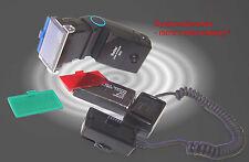 Thyristor Zoom Computer Blitz VIVITAR 3500 Strobist  geeignet als Slave Blitz