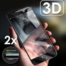 2x 3D Schutzpanzer Glasfolie für iPhone 7 iPhone 8 Displayschutz Panzerfolie
