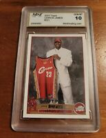 2003-04 Topps #221 Lebron James RC Rookie Card Gem Mint 10 PSA BGS RC🔥🔥