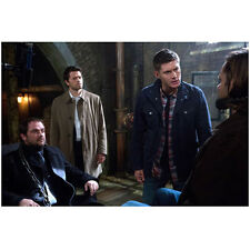 Supernatural Cast In Chains Interrogating One Another 8 x 10 Inch Photo