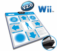 DDR Wii DELUXE DANCE PAD V2.0 for Nintendo Wii