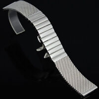 18-24mm wristwatch bands watch bracelet mesh Stainless Steel Shark Diving strap