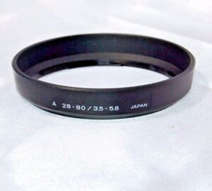 Used Genuine Minolta A 28-80 / 3.5-5.6 Lens Hood (2502030)