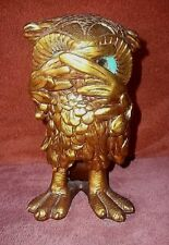 "Vintage  Austin Products Abstract Owl Sculpture 9 1/2"" Tall  "" SHY OWL """