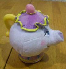 "Disney Beauty and the Beast MRS. POTTS TEAPOT 6"" Plush STUFFED ANIMAL Toy NEW"