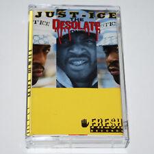 Just-Ice Desolate One Cassette Rap Tape Hip Hop '89 Sleeping Bag Fresh Records