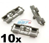 10x Clips For Renault Kangoo Weatherstrips Door Rubber Trim Seal Gasket Plastic