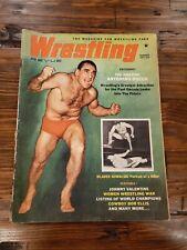 Wrestling Revue magazine Summer 1961 Rocca