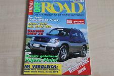 164605) Mercedes ML 270 CDI im TEST - OFF Road 10/1999