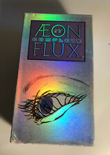 Aeon Flux - Vhs Original The Complete Mtv 3 Tape Box Set 1998 Rare Oop Fast Ship