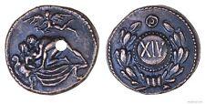 Roman Spintria Brothel Entry Token XIV Bronze