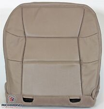 00 01 02 Lincoln Navigator -Driver Side Bottom PERFORATED Leather Seat Cover TAN